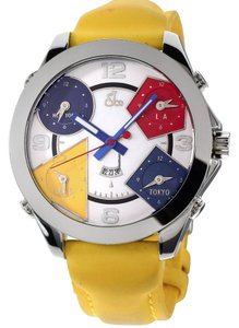 Jacob & Co. Jacob & Co. JC Five Time Zone 47MM Stainless Steel