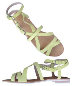 French Connection Leather NEW lemon Sandals