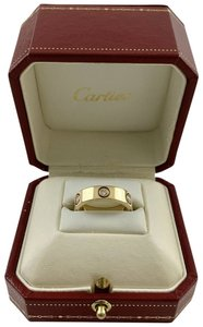 Cartier Cartier 18k Yellow Gold Six Diamond Love Ring Size 54 or 7