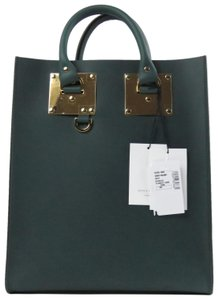 Sophie Hulme Tote in Forest Green