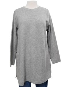 Eileen Fisher Cotton Contemporary Minimalist Sweater