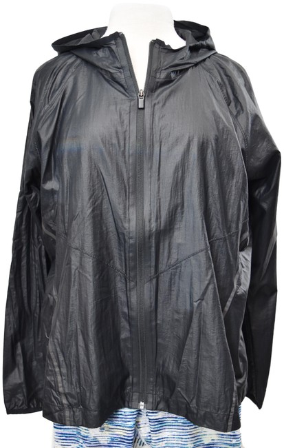 Athleta Black XL Windbreaker Activewear Outerwear Size 16 (XL, Plus 0x) Athleta Black XL Windbreaker Activewear Outerwear Size 16 (XL, Plus 0x) Image 1