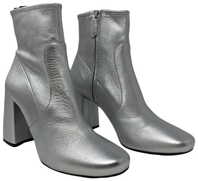 Item - Silver Boots/Booties Size US 7.5 Regular (M, B)