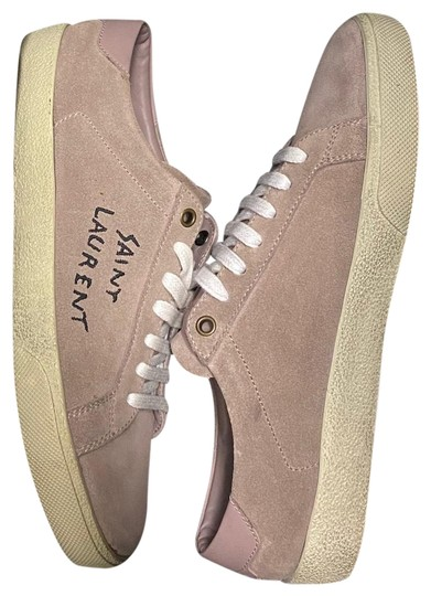 Preload https://img-static.tradesy.com/item/27254520/saint-laurent-old-rose-suede-court-sl-sneakers-size-eu-40-approx-us-10-regular-m-b-0-1-540-540.jpg