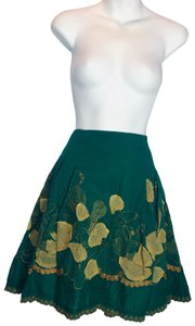 Sweet by Miss Me Skirt Green /yellow
