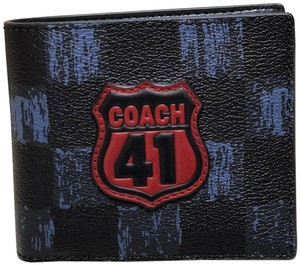 Coach F27052 3-IN-1 Wallet with Graphic Checker
