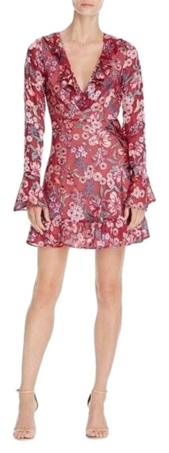 Item - Red Gracie Mini Short Night Out Dress Size 4 (S)