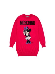 MOSCHINO [tv] H&M short dress Hot Pink Disney Minnie Mouse Sweater Graphic Print on Tradesy