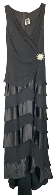 Item - Black Gown Long Formal Dress Size 4 (S)
