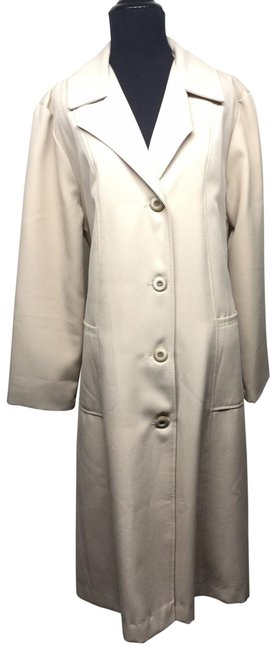 Item - Beige Tan Full Length Coat Size 16 (XL, Plus 0x)