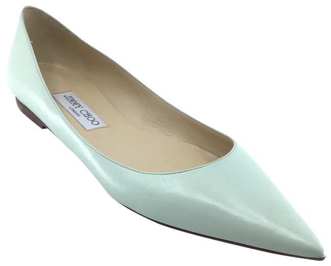 Item - Mint Leather Pointed Flats Size US 9.5 Regular (M, B)
