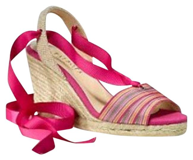 Item - Pink Serana Wedges Size US 7.5 Regular (M, B)