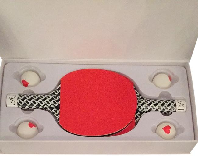 Item - Red Dvf Ping-pong Set