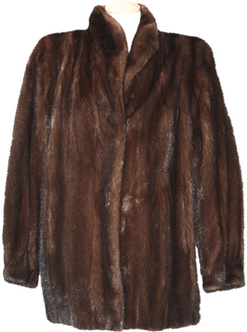 Item - Brown Mink Short Coat Size OS (one size)