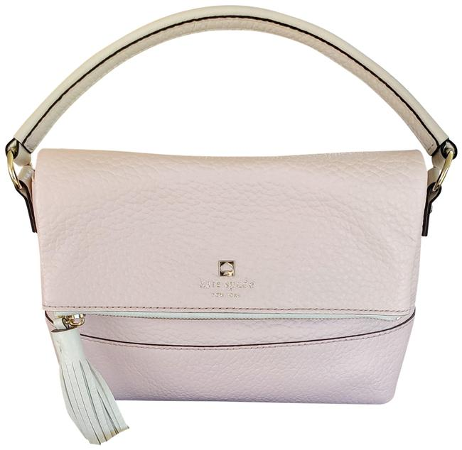 Item - Mini Maria Light Pink Off While Accents Cowhide Leather Cross Body Bag