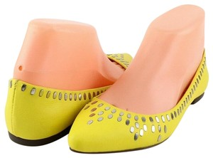DV by Dolce Vita Comfortable Ballet Pointed Toe Yellow Flats
