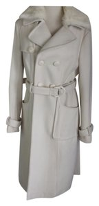BEBE Wool Trench Belted Trench Coat