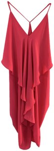 Olivaceous short dress Hot Pink on Tradesy