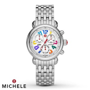 Michele Stainless Steel CSX Signature Carousel Womens MWW03M000054