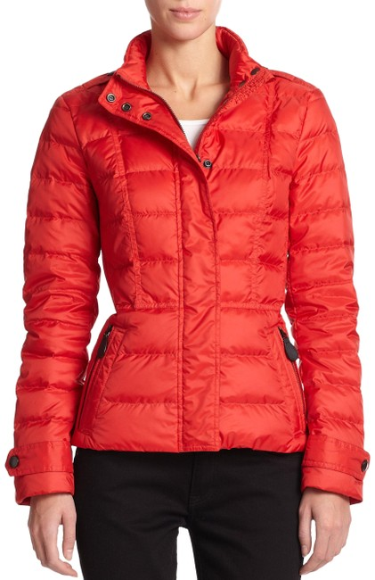 Item - Red XS Dalesbury Bright Military Quilted Check Down Coat Jacket Size 2 (XS)