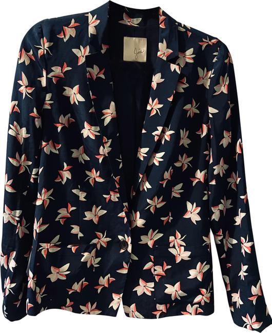 Item - Navy and Pink 284 Jacket Size 2 (XS)
