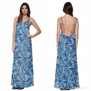 blue Maxi Dress by Lovers + Friends Strappy