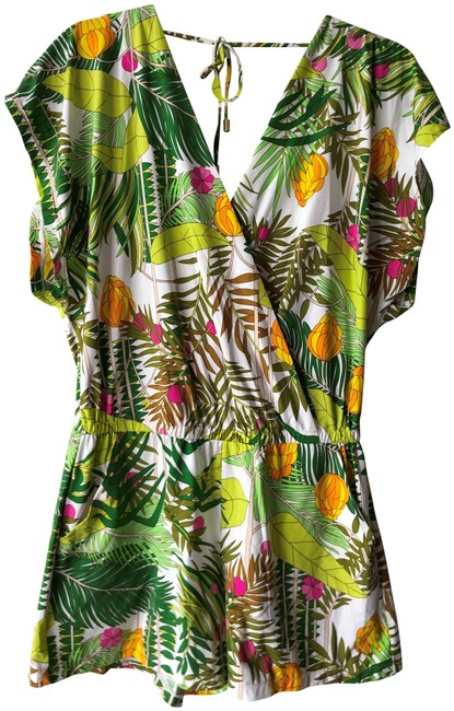 Item - Multicolor Its Bananas Romper Cover-up/Sarong Size 8 (M)