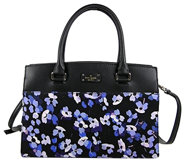 Item - Crossbody Grove Street Caley Hydrangea Satchel/Crossbody Multicolor Fabric/Leather Satchel