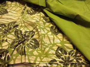 Columbia Outdoor Floral Green Summer Cute Comfortable Skort Lime Green