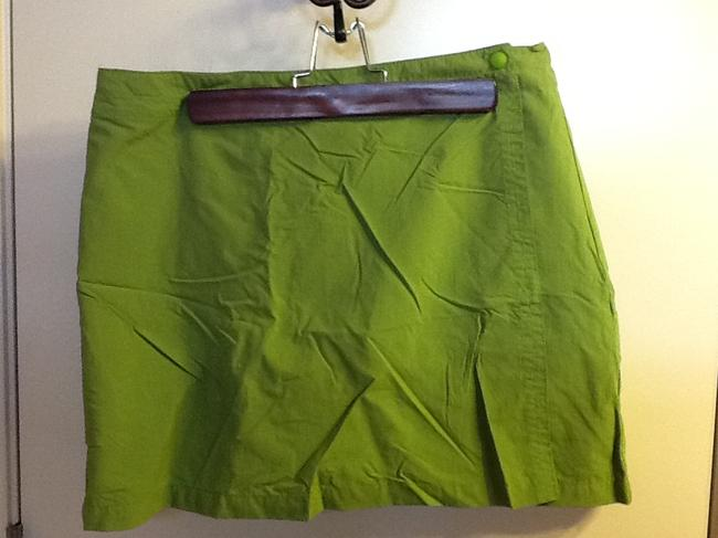 Columbia Sportswear Company Outdoor Floral Summer Cute Comfortable Skort Lime Green
