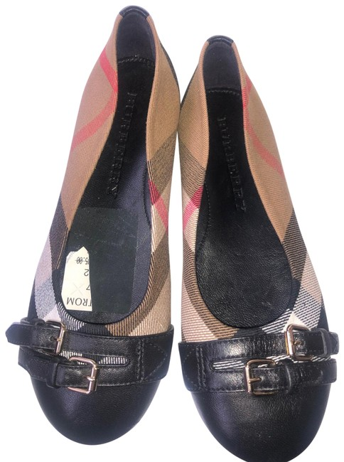 Item - Check Girls Avonwick Print Us/ Eu 32 Black Flats Size US 4 Regular (M, B)
