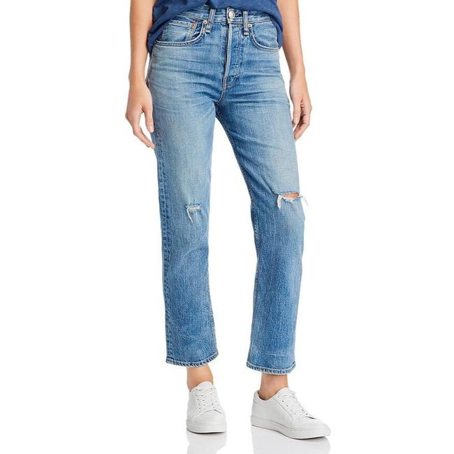 Item - Orian Distressed Maya High Rise Straight Leg Jeans Size 6 (S, 28)