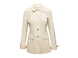 Givenchy Vintage Cream Givenchy Skirt Suit