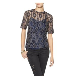 Piperlime Lace Top Navy