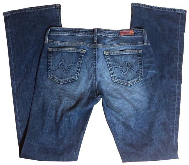 "Item - Medium Wash Blue Denim 27r-ag ""the Angel"" Boot Cut Jeans Size 4 (S, 27)"