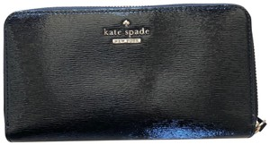Kate Spade Patent Leather Wallet with Zipper