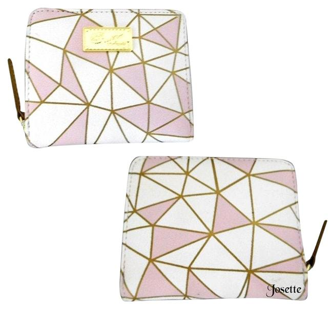 Item - Pink Bone Zip Around Wallet