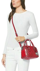 Michael Kors Next Day Shipping Satchel in Red