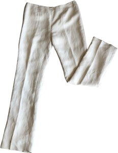 Dana Buchman Straight Pants Off- White