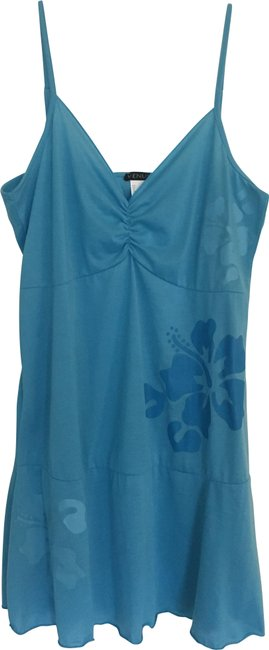 Item - Teal Cami Style Short Casual Dress Size 16 (XL, Plus 0x)