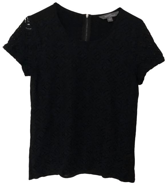 Item - Black Classic with Sheer Lace Tee Shirt Size 4 (S)