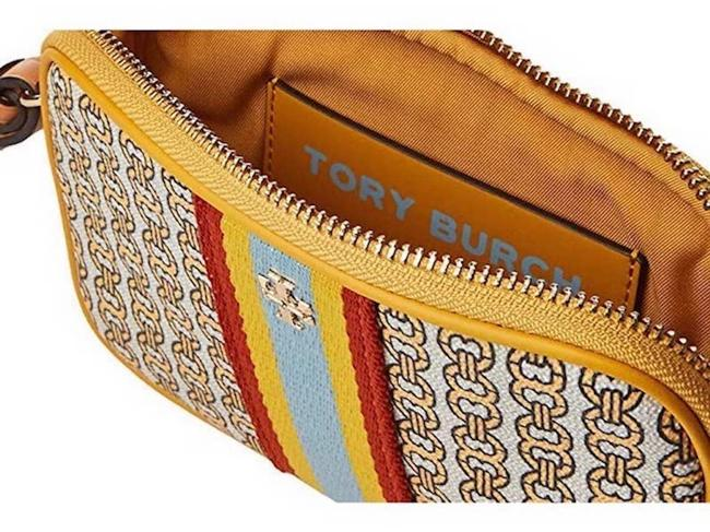 Item - Limited Edition Color Gemini Links Yellow Canvas Wristlet
