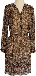 Vince Camuto short dress Leopard Print on Tradesy