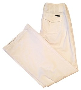 Sanctuary Clothing Relaxed Fit Bell Wide Leg Pants White