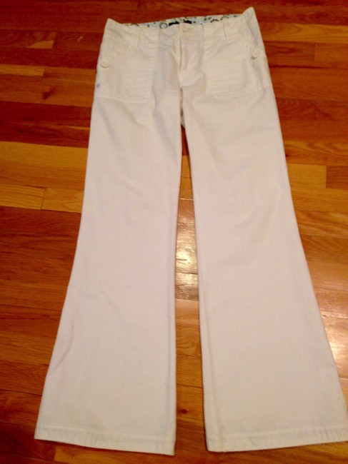 Sanctuary Relaxed Fit Bell Cotton Wide Leg Pants White