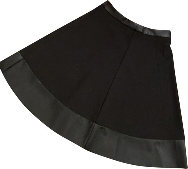 Forever 21 Black Faux Leather Punk Skirt Size 4 (S, 27) Forever 21 Black Faux Leather Punk Skirt Size 4 (S, 27) Image 1