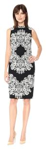 Adrianna Papell Damask Mididress Midi Dress