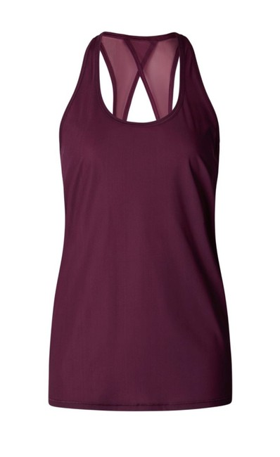 Item - Red Grape Tranquil Activewear Top Size 8 (M)