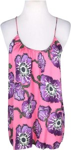 Tucker Camisole Night Out Floral Flowy Top Pink