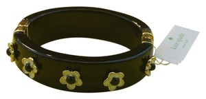 Kate Spade British & French Inspired Mod 60's Flair Kate Spade Mod Floral Hinged Bangle Bracelet